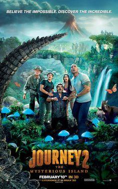 Viaggio nell'isola misteriosa. Finalmente un buon film di intrattenimento. Si sogna per tutta la durata del film di vivere una bella avventura che sappiamo tutti finirà bene e ci mette in pace con il mondo alimentando la nostra fantasia.