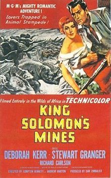Robert L.SurteesBest Cinematography, Color1951King Solomon's Mines