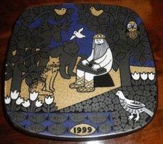 Arabia Kalevala 1999 Ceramic Plates, Finland, Mythology, Scandinavian, Porcelain, Kids Rugs, Interiors, Ceramics, Tableware