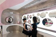 Amazing Interior of Barbie's Shanghai Flagship Retail Store by Slade Architecture