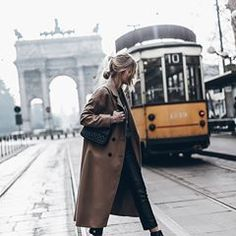 Tram 💥Ciao Milano! Love being here these days! #milan #mfw
