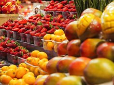 """The best fresh produce in Barcelona at """"Casa Calvet"""". Visit the blog to see 7 more must-try places in Barcelona."""