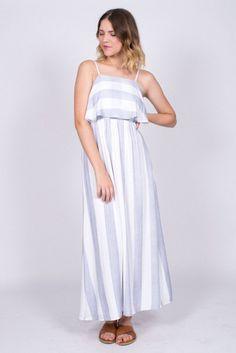 Bec bridge positano maxi dress