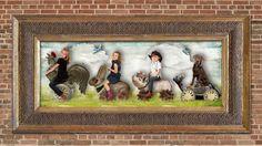 The Ride. Creative Family Photography, by Virginia Angus, Denver, Colorado. http://raffiaroses.com