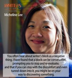 Micheline Lee at Writers Victoria https://writersvictoria.org.au/civicrm/event/info?reset=1&id=117