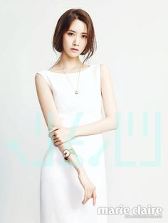 Yoona of Girls' Generation, Marie Claire 2014 May & Godnamo