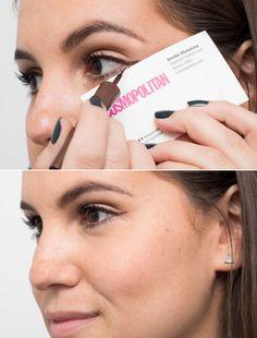 Fotos de moda | 8 trucos increíbles para maquillaje de ojos | http://soymoda.net