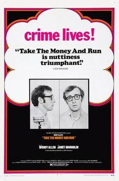 Woody Allen - Take the Money and Run - Mini Print