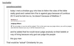 This should make people reflect on themselves and their beliefs. As a Christian, I actually agree with this 100%!