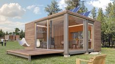 Meka- very cool modular houses created from used shipping containers.