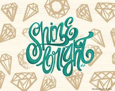 typeverything:    Shine Bright! - Hay-Day Project by Maia.