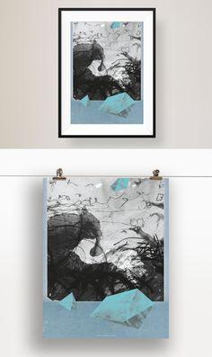 Mitreißende Designposter für die Wände daheim oder zum verschenken und erfreuen :) http://www.111dinge.de/designposter/wandbild-designposter-ruesseltier/