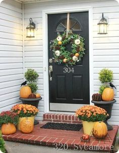 2012 fall autumn front porch