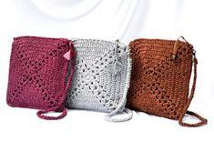 Burgundy crochet crossbody purse Handmade gift for women Crochet Purses, Crochet Bags, Belt Purse, Yoga Mat Bag, Unique Crochet, Round Bag, Brown Purses, Small Bags, Leather Crossbody Bag