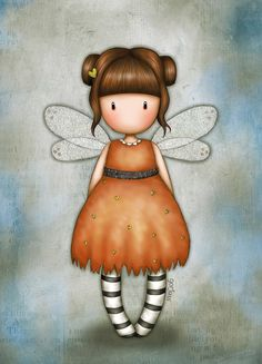 Eclectic Selection Little Pumpkin (Gorjuss) Cute Images, Cute Pictures, Cute Cartoon Girl, Kawaii, Happy Paintings, Illustration, Little Pumpkin, Fairy Art, Stone Painting