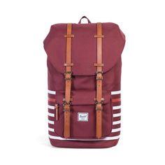 7af94c1e50 Little America Backpack Striped Backpack