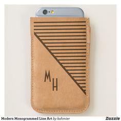 Modern Monogrammed L