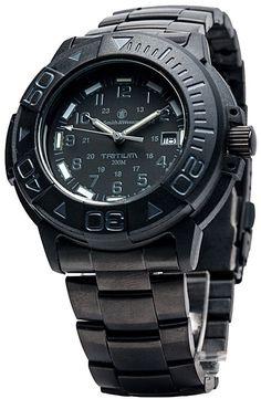 Smith & Wesson Diver Watch - Black - SWISS TRITIUM