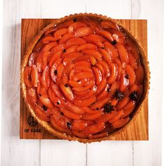 Lily Vanilli's quince tart with star anise - Woman And Home