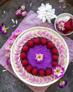 Colorful Food, Food Coloring, Acai Bowl, Basil, Berlin, Raspberry, Seeds, Pudding, Fruit