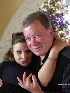 William Shatner-My dear friend Carrie Fisher is in the hospital. If you can take a moment out of your busy day and send her a prayer, good thoughts, .however you send hope, I would appreciate it. My best, Bill Debbie Reynolds Carrie Fisher, Carrie Frances Fisher, William Shatner, Star Trek Tos, Star Wars, Michael Lewis, I See Stars, Star Trek Original Series, Role Models