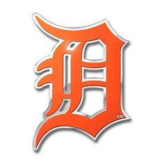 Detroit Tigers Color Auto Emblem - Die Cut