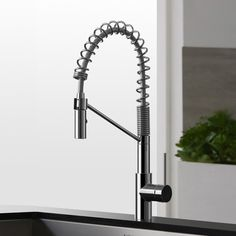 Kraus Mateo™ Single Lever Commercial Style Kitchen Faucet & Reviews | AllModern