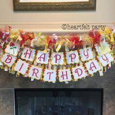 Belleza y la fiesta de cumpleaños de la bestia por HeartfeltParty
