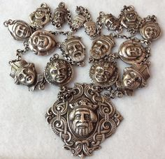 Latest sterling silver Dragestil necklace oddity find | Collectors Weekly