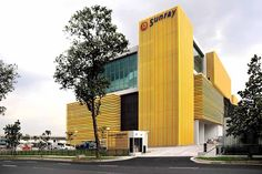 sunray woodcraft construction headquarters by DP architects