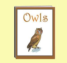 """The thematic unit eWorkbook titled """"Owls"""" explains common features, where they… Owl Activities, Thematic Units, 5th Grades, Owls, Habitats, Hogwarts, Classroom Ideas, Worksheets, Creepy"""