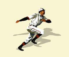 Baseball player running, classic play Vintage Tees, Vintage Shops, Classic Image, Baseball Players, Flyer Template, Vintage Inspired, Running, History, Sports