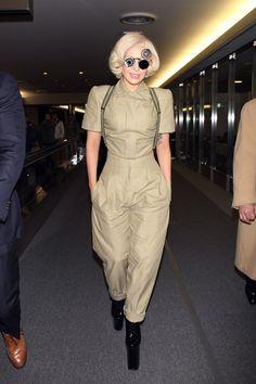 November 26 - Lady Gaga Arriving At Narita Airport In Japan