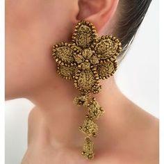 Macrame Earrings, Diy Earrings, Crochet Earrings, Ear Jewelry, Jewelry Crafts, Jewellery, Handmade Beaded Jewelry, Earrings Handmade, Hair Upstyles