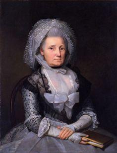 A Lady,  Artist:   Ralph Earl      Date:   1784