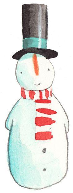 Oliver Jeffers Snowman
