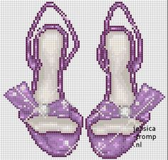 Fashion you cant miss Cross Stitching, Cross Stitch Embroidery, Hand Embroidery, Cross Stitch Designs, Cross Stitch Patterns, Beading Patterns, Embroidery Patterns, Hama Beads, Kawaii Cross Stitch