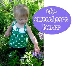 ***update: this pattern is now available in the pattern shop. Just in case you'd rather have every measurement you need at your fingertips instead of guessing:) Includes sizes 6 mos. up to 6 years, a yardage chart, and improved instructions.*** Bring on summer! The sweetheart halter is ready to take on the heat in style! [Read More]