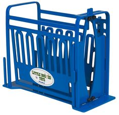 "Priefert Toy Squeeze Chute Toy - Just like the big boy's on the ranch. Run 'em through a name brand chute that is sure to allow you a catch every time. Priefert Cattle Chute Toy is 7""L x 4""W x 6""H. #littlebustertoys #kids #toys"