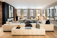 Interior Marketing Group by Cheryl Eisen | Downtown Living Room imgnyc.com
