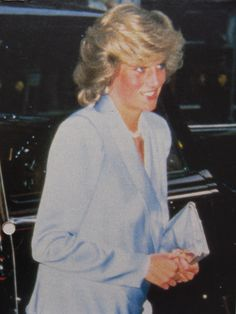 """June 11, 1984: Princess Diana attends """"Indiana Jones and the Temple of Doom"""" premiere at the Empire Cinema in Leicester Square, London."""