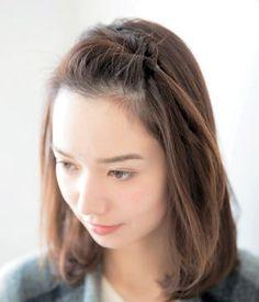前髪 くるりんぱ やり方 ヘアアレンジ 美的 Hair Arrange, Hairstyles Haircuts, Hair Makeup, Braids, Hair Cuts, Hair Beauty, Skin Care, Long Hair Styles, Pretty