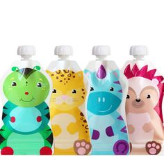 ChooMee%20Snack'n%20Reusable%20Food%20and%20Drink%20Pouch%20Set%20-%204%20Pack