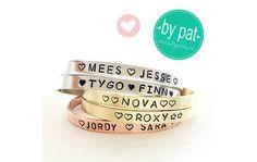Oh yeah winnen: mooie gepersonaliseerde armband van By Pat - Oh yeah baby!