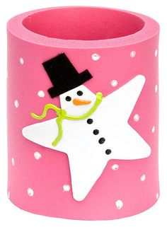 DecoArt® Snow Star Can Hug #craft #snowman #winter
