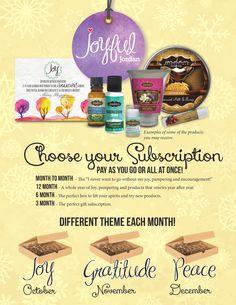 Jordan Essentials Joyful Jordan Bath & Body Subscription http://www.jordanessentials.comRegister w/ Consultant #6707