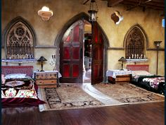 <3 LOVE <3 THESE DOORS/Alcoves- in Converted Church to Home..