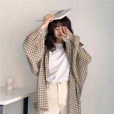 Korean Fashion Trends, Korean Street Fashion, Korea Fashion, Asian Fashion, Look Fashion, Fashion Spring, K Fashion Casual, Korean Outfits, Mode Outfits