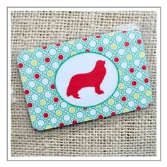 Lively Dots Personalized Dog Breed Luggage Tags. Fun gift for dog lovers. $15 for two tags. SAVE 15% now with coupon code DOGPIN at www.bestfriendsstudios.com. Just CLICK on the pic!