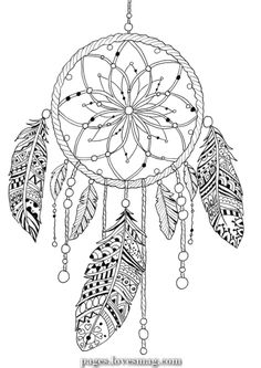 Dream catcher coloring pages, coloring book pages, mandala drawing, mandala Dream Catcher Coloring Pages, Dream Catcher Drawing, Dream Catcher Mandala, Dream Catcher Tattoo Design, Quote Coloring Pages, Printable Adult Coloring Pages, Mandala Coloring Pages, Colouring Pages, Coloring Books